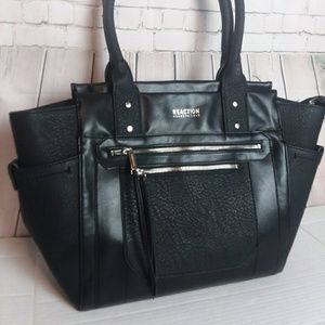KENNETH COLE REACTION oversized black purse